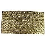 Sei Bella Gota Patti Champa Lace Border Material for Dupatta, Bridal Dresses, Saree, Lehengas, Palazzo, Anarkali Suits…