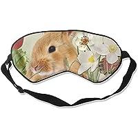 Comfortable Sleep Eyes Masks Bunny Printed Sleeping Mask For Travelling, Night Noon Nap, Mediation Or Yoga preisvergleich bei billige-tabletten.eu