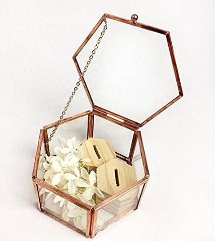 XUEQ Boîte À Bijoux Boîte À Bijoux Transparente Boîte De