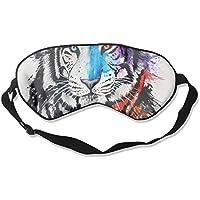 Sleep Eye Mask Tiger Head Abstract Lightweight Soft Blindfold Adjustable Head Strap Eyeshade Travel Eyepatch E9 preisvergleich bei billige-tabletten.eu