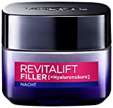 L'Oreal Paris Revitalift Filler Anti-Age Pflege Nacht Creme 2x50 ml