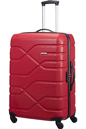 american-tourister-housten-city-4-rollen-trolley-m-69-cm-rot