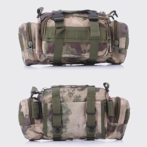 Z&N Backpack Camouflage multifunktionale militärische Fans Freizeitsportarten taktische Taschen Schulterkameras Rucksäcke Angriffspakete taktische Operationen Rucksacktaschen I