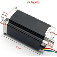 Nema23 Motor paso a paso de doble eje 3A para máquina de grabado/fresado/impresora 3D Nema23 Motor paso a paso 23HS2430B