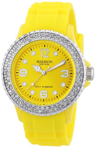 Madison New York Armbanduhr mit SWAROVSKI ELEMENTS