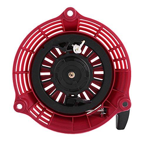 Qiilu Recoil Starter Pull Start Montage für Honda GC135 GC160 GCV135 GCV160 EN2000 Generatoren