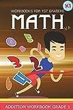 Workbooks for 1st Graders Math Volume 6: Kindergarten Workbook Math Adding and Subtracting (Addition and Subtraction Workbook Grade 1)