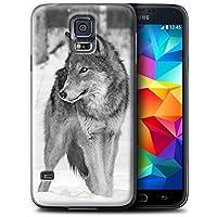 Stuff4 Hülle / Hülle für Samsung Galaxy S5/SV / Wolf Muster / Zoo-Tiere Kollektion