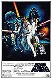 Generic Star Wars Film Foto Poster Vintage Film Kunst Episode IV A New Hope 001 (A5-A4-A3) - A5
