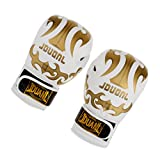Generic Full Finger Boxing Gloves Sparring MMA Training Muay Thai Kick Boxing Protection Gear - white