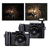Digital Camera Camcorder Full HD 1080p 24.0MP Vlogging Camera 3.0 Inch Flip Screen Camcorder Camera with Retractable Flashlight