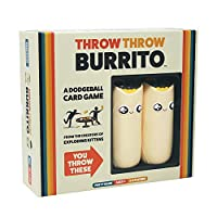 Throw Throw Burrito: A Dodgeball Card Game by Exploding Kittens