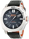 Hugo Boss Orange Sao Paulo Men's Quartz Analogue Classic Black Leather Strap 1513295