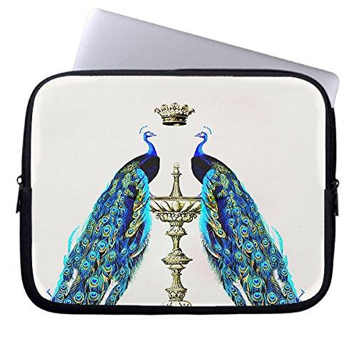 """longdong 9.7Pavoni Specchio con Corona Custodia protettiva impermeabile borsa per computer portatile, Notebook, Computer per iPad foe 17"""""""