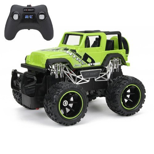 New Bright F/F Jeep Wrangler RC Car (1:24 Scale) by New Bright