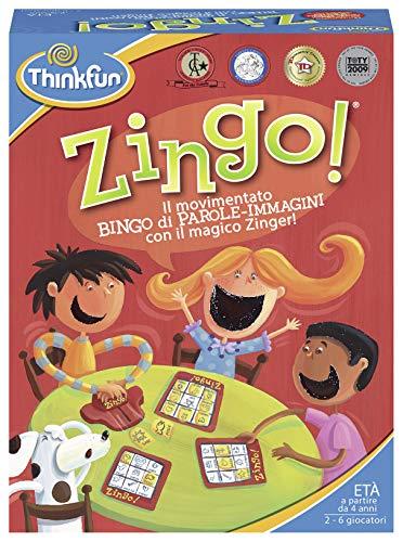 Ravensburger 76324 Zingo-Il Parole-Bilder mit Dem Magico Zinger