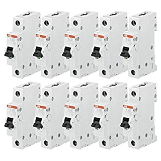 ABB S201-B16 Miniatur-Leistungsschalter, 10 Stück