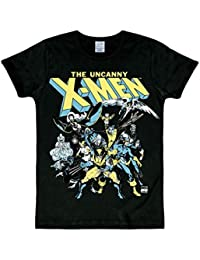 Marvel Comics - X-Men - Le groupe de super-héros T-shirt Slim Fit - noir - Design original sous licence - LOGOSHIRT
