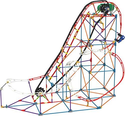 K'NEX 33953 – Thrill Rides – All Star Adventure Rollercoaster – 561 Pieces – 9+ – Bau- und Konstruktionsspielzeug