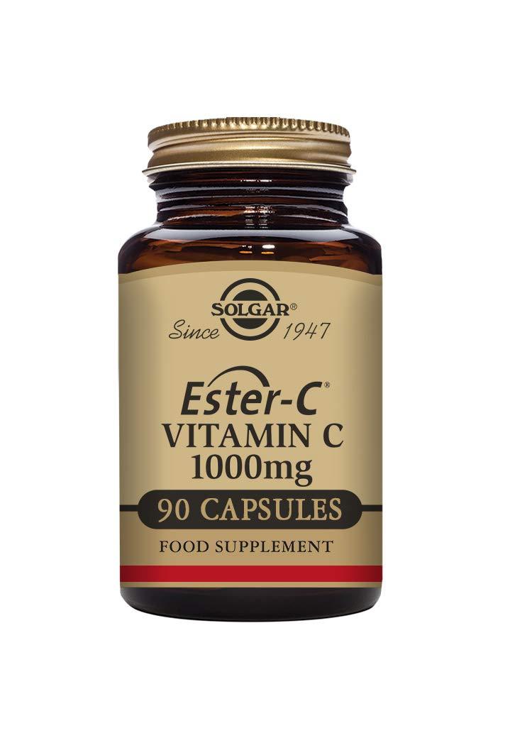 Solgar Ester-C 1000 mg Vitamin C Capsules – Pack of 90