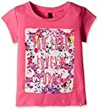 #5: United Colors of Benetton Baby Girls' T-Shirt (16A3094C163EIK270Y_Dark Pink_0Y)