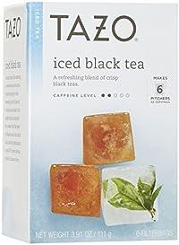 Tazo Black Iced Tea, 6 ct