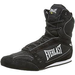 Everlast 8003 - Botas altas de boxeo unisex, color negro, talla 39