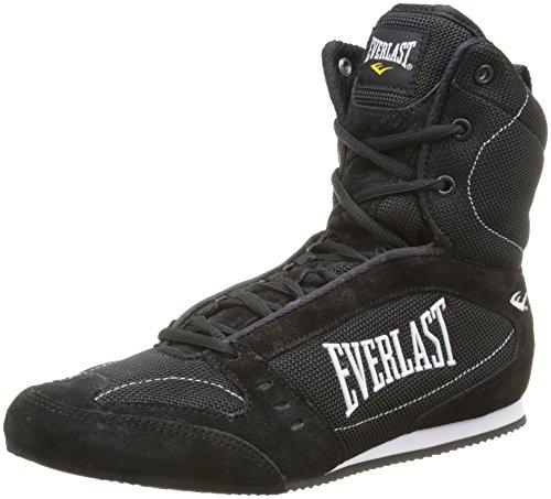 Everlast 8003 - Botas altas de boxeo unisex, color negro, talla 41
