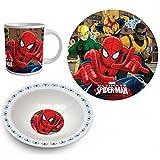 Spiderman Frühstücksset (3-teilig)