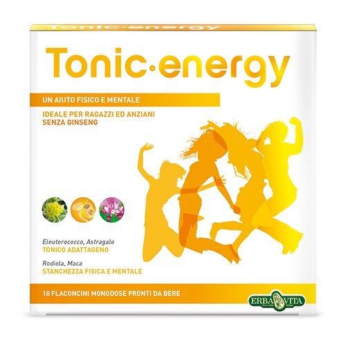 Erba Vita Integratore Alimentare Tonic Energy - 10 Flaconi x 12 ml