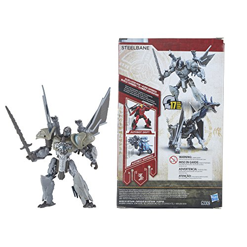 Transformers Mv5 Deluxe The Last Knight Steel Bane
