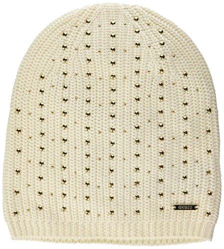 GUESS Damen Fedora Sarita Hat-W63Z55Z1C20 Weiß (A002 Milk), L (Herstellergröße: L)