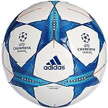 Adidas Finale 15 Capitano S90224  - Balón de fútbol, Color Blanco / Azul, Talla: 5