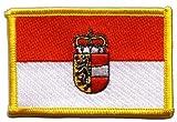 Flaggen Aufnäher Österreich Salzburg Fahne Patch + gratis