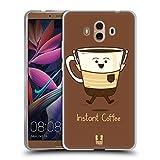 Head Case Designs Instantkaffee Kaffee Persönlichkeiten Soft Gel Hülle für Huawei Mate 10