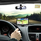 Hieha 7 Inch Car Truck Lorry GPS Android SAT NAV Satellite Navigation System Navigator WIFI Bluetooth HD Capacitive Touch Screen SpeedCam POI MP3 Lifetime UK EU Maps Updates 512M 16G Upgraded Version