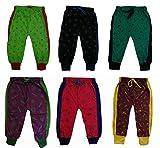 #3: Kids Diaper fit Pants with Bottom Rib Lion print (Pack of 6) Leggings / Tracks