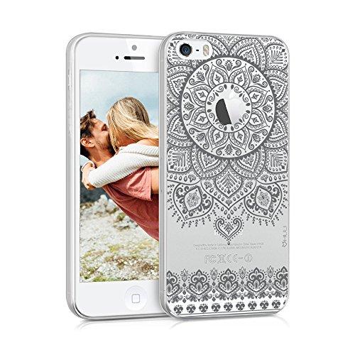 efc528d75f2 HULI Design Case Hülle für Apple iPhone SE/5/5s Smartphone im  Orientalischen Muster