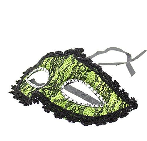 assische Spitze venezianischen Stil Maske ideal für Halloween/Kostüm Partys ()