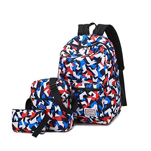 Sac à dos toile/junior high et lycéens un sac à dos/Sacs de vent de l'Université de couleur/Sacs de voyage de loisirs/Sac d'ordinateur-A F