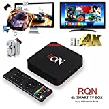 Oliying Android TV Box 5.1, 1GB RAM + 8GB ROM QuadCore Cortex A53 2.4Ghz WiFi 4 K Wifi