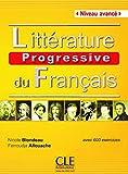Litterature progressive du francais 2eme edition: Livre avance (B2/C1)