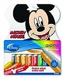 Giotto Mickey Mouse astuccio 10 colori stick extra soft