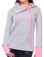 24brands Damen Sport Jacke Pullover Pulli - 2287