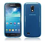 TBOC Custodia Gel TPU Blu per Samsung Galaxy S4 Mini i9190 in Silicone Ultra Sottile e Flessibile