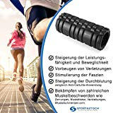 """Profi Faszien Rolle """"Happy Roll"""" von Sportastisch :: hochwertige Massagerolle in geprüfter Qualität - 5"""