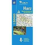 Topographische Sonderkarten Niedersachsen. Sonderblattschnitte auf der Grundlage der amtlichen topographischen Karten, meistens grösseres ... 1:50.000 / Wandern im gesamten Harz