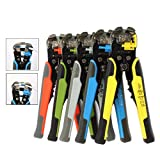 Cable Wire Stripper Cutter Crimper Automatic Multifunctional Tab Terminal Crimping Stripping Plier Tools : United States, Plier