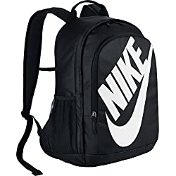 Nike Nk Hayward Futura Bkpk - Solid Mochila, Unisex Adultos, Negro (Black/Black / White)