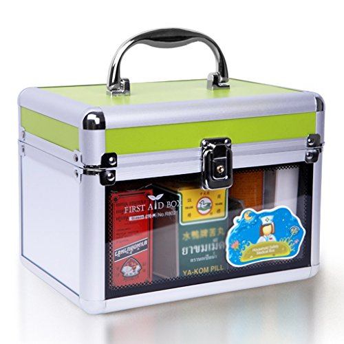 MMM Kit Box Box Medicine Storage Health First Aid Kit Mini Famille Trompette Enfants